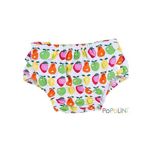 Popolini Schwimmwindel Badehose Badewindel Fruits, L (8-15kg)
