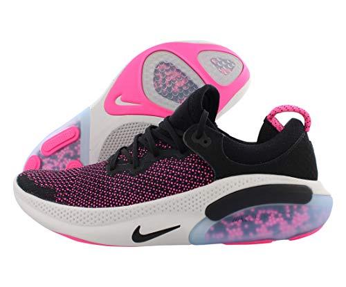 Nike Men's Joyride Run Flyknit Running Shoes (10, Black/Black/Anthracite/Pink Blast)