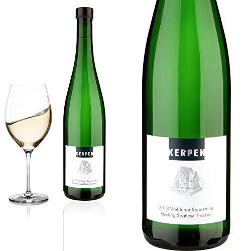 2018 Riesling Spätlese trocken Wehlener Sonnenuhr Kerpen Weingut Weißwein, trocken - Prämiert