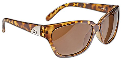 Dice Damen Sonnenbrille, Light Brown, One Size, D01611-3