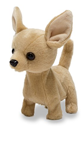 Cuddle Barn - Lola the Chihuahua | Animated Little Puppy Dog Stuffed Animal Plush Toy Barks & Wags Tail, 6'