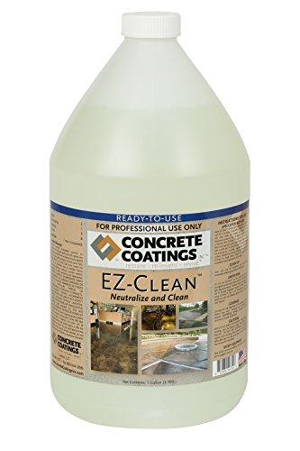 CC Concrete Coatings EZ-Clean   Concrete Acid Stain Neutralizer