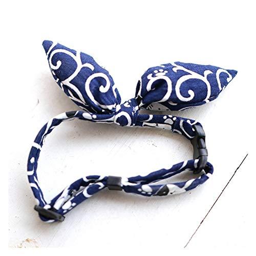 Multa Collar de gato arco arqueamiento bowtie cuello para gatos y accesorios de perros pequeños gatito de cuello gato Productos para mascotas de cuello de gato Collar de corbata de lazo para cachorros