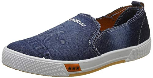 Unistar Men's Blue Sneakers-9 UK/India (43 EU) (E-5028)