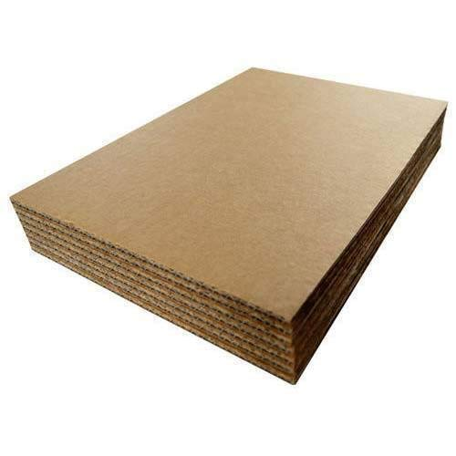 "Corrugated Cardboard Filler Insert Sheet Pads 1/8"" Thick - 8 x 10 Inches for Packing, mailing, and Crafts - 25 Pack"