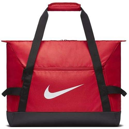 Nike NK ACDMY Team S DUFF Gym Duffel Bag, University red/Black/White, MISC