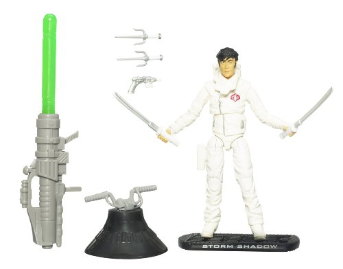 Hasbro G.I. Joe Movie The Rise of Cobra 3 3/4 inch Action Figure Storm Shadow (Paris Pursuit) By (English Manual)