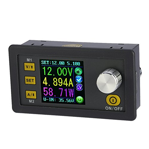KKmoon LCD Digital programmierbare Konstantspannung Aktuelle Step-Down Power Supply Modul DC 0-32.00V/0-5.000A¡­
