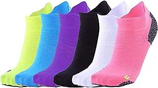 Sports Socks Ofoice Men Women Anti-Friction Comfort Athletic Ankle Socks(6-Pair)