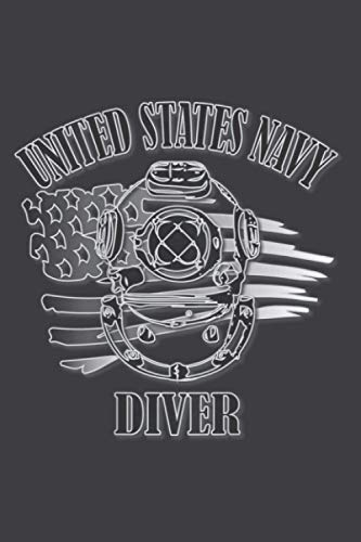 U S Navy Diver Back Design: Daily Planner Journal Notebook: To Do List, Appointments, Daily Organizer (6 x 9 inch)