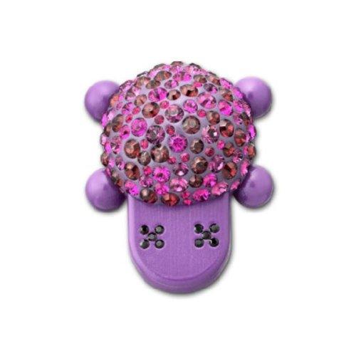 Swarovski Damen-Schmuck-Anhänger-USB-Stick, Chloy Violett 4GB 3.8x3.1 cm 1079782