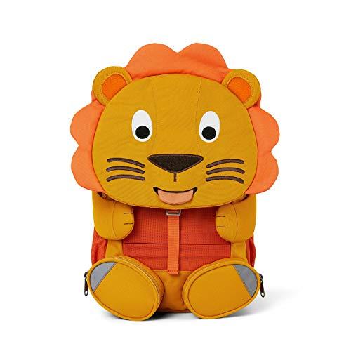 Affenzahn Großer Freund - Kindergartenrucksack für 3-5 Jährige Kinder im Kindergarten und Kinderrucksack für die Kita - Löwe - Orange