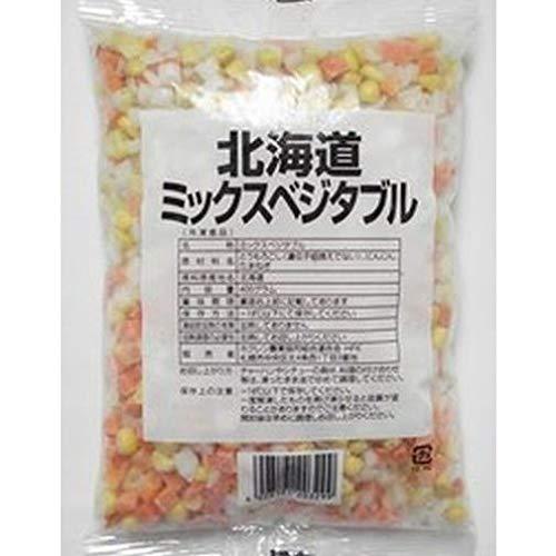 ホクレン 北海道ミックスベジタブル400g×3個 【冷凍野菜】【国産】【業務用】