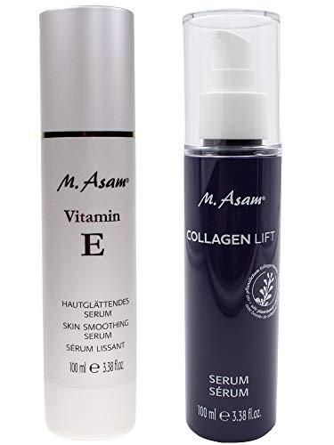M. Asam® Collagen Lift Serum 100ml + Vitamin E Hautglättendes Serum 100ml