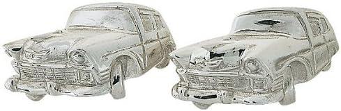 ZAUNICK Chevy Car NEW Sterling Cufflinks Special price Silver