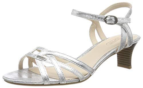 ESPRIT Glänzende Riemchen-Sandalette
