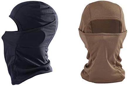KOOYU Balaclava Ski Mask Neck Gaiter Face Bandana Anti Dust Face Scarf Black Coffee product image