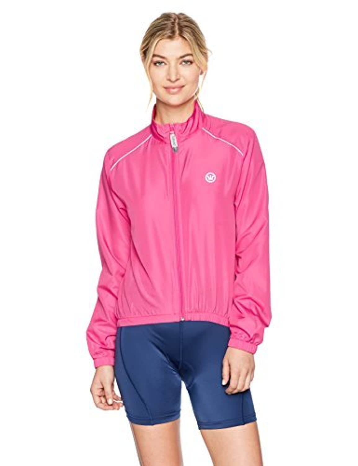 Canari Women's 3 Season Cycle Shell Panther Pink Medium [並行輸入品]