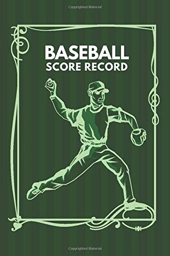 Baseball Score Record: Professional Baseball Scoring Sheet, Score Sheet Notebook for Outdoor Games, Gifts for Game Records, Game lovers, Friends and ... with 110 Pages. (Baseball Scorebook, Band 18)
