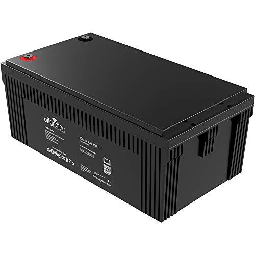 Offgridtec AGM 234Ah 20HR 12V - Solar Batterie Akku Extrem zyklenfest …