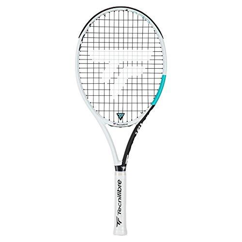 Tecnifibre T-Rebound 270 Tempo3 Incordata: Sì 270G Racchette da Tennis Racchette Allround Bianco - Blu Chiaro 0
