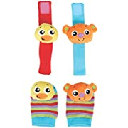 Playgro 0186343 Hands And Feet Discovery Rattles for baby infant toddler children, Playgro is Encouraging Imagination with STEM/STEM for a bright future - Great start for a world of learning