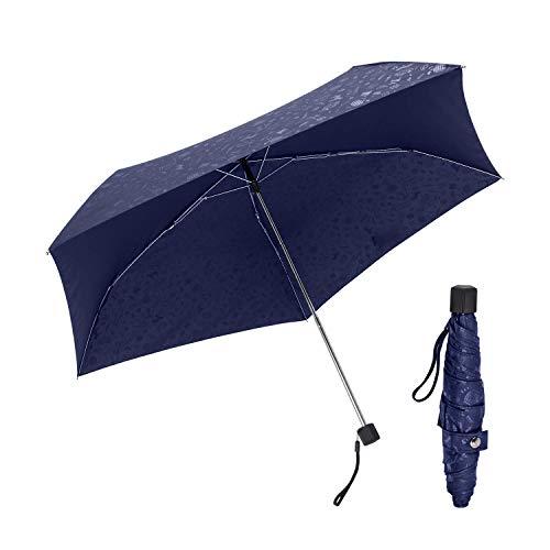 Taschen- Schirm Miniregenschirm Winddicht Robust Ultraleicht (7oz) Reiseregenschirm Zusammenklappbar Langlebig und Stark Wasserdicht Verstärkter Rahmen Männer und Frauen