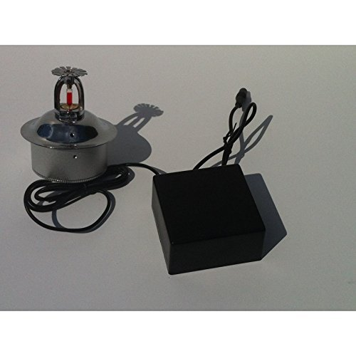Spy-MAX Covert Video WiFi Fire Sprinkler (non-functional) Hidden Covert Camera Remote Access Hidden Wi-Fi Digital Wireless LIVE VIEW Web Camera and Recording - Motion Activated Spy Gadget – Covert/ Portable Design– HD Web Cam – Remote Viewing - Best USA Made Recorder for Home, Kids, Nanny, Office
