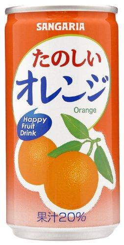 たのしいオレンジ 190g×30本 缶