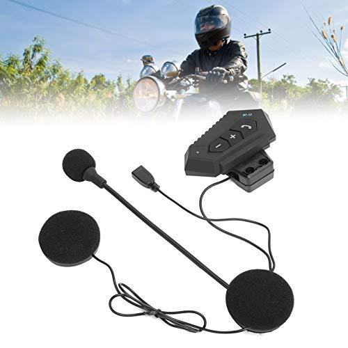 Surebuy Auriculares Bluetooth, conexión Estable de Auriculares cómodos para Cascos para Exteriores para decoración(BT12)