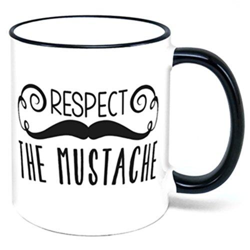 Respect The Mustache Coffee Mug