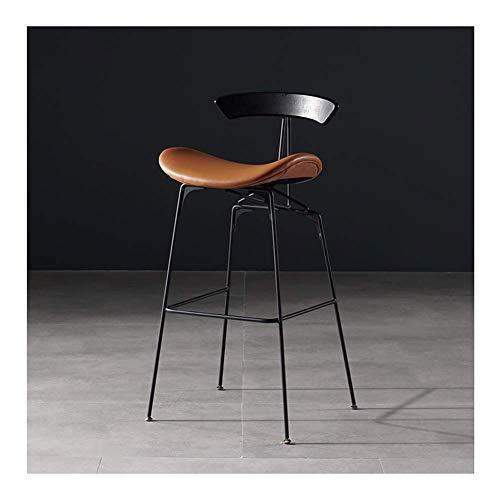 AGLZWY barkruk zonder leuning, vierkante industriële stoel met voetensteun voor keuken bistrokeuken eiland zwart, rood, wit (kleur: wit, afmetingen: 38 x 39 x 78 cm) 50x46x101cm Gtaglzwx6135r-1