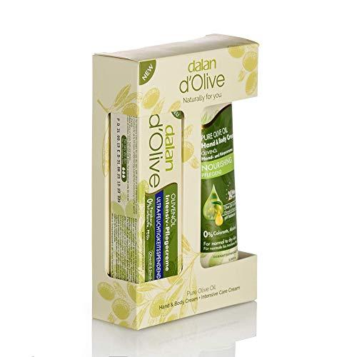 Dalan d'Olive Hand und Körper Creme 75ml und Ultra Feuchtigkeits Creme 20ml im Geschenkset