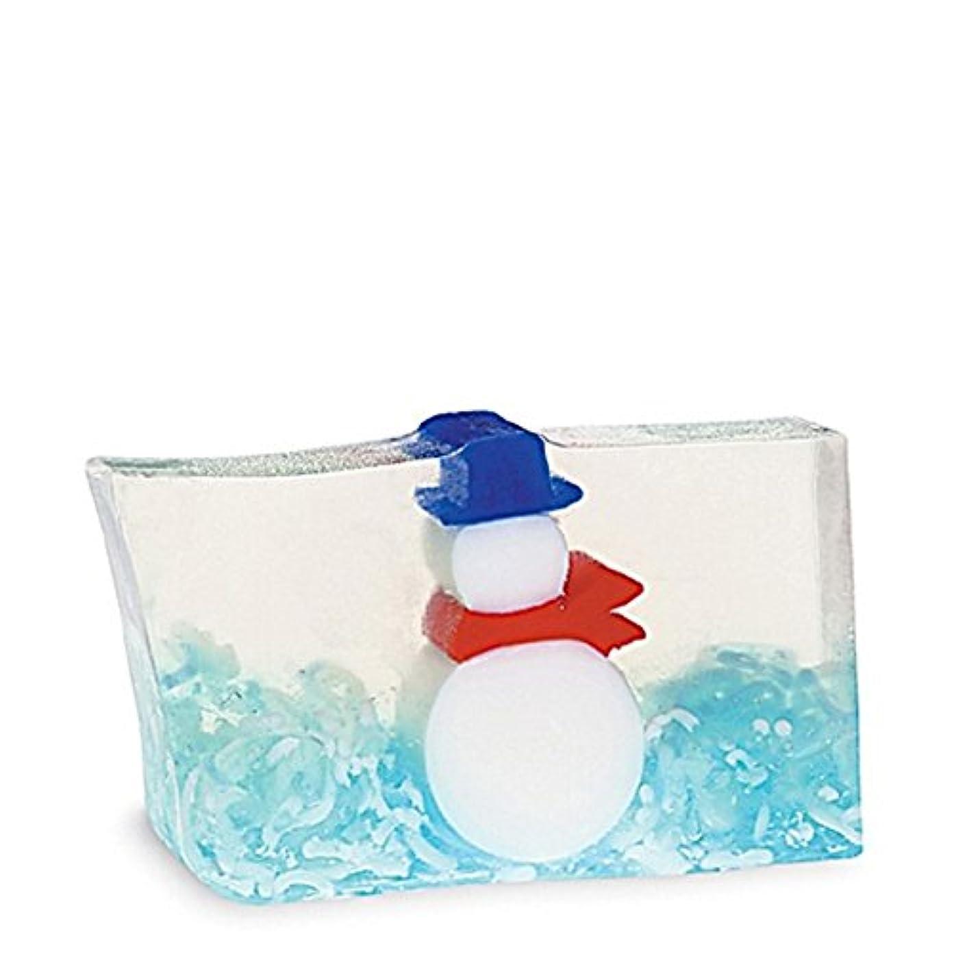 書く単位安全でない原初の要素雪だるま石鹸170グラム x2 - Primal Elements Snowman Soap 170g (Pack of 2) [並行輸入品]
