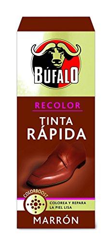 BÚFALO tinta rápida para zapatos color marrón caja 25 ml