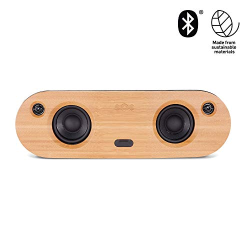 House of Marley Bag Of Riddim Altoparlante Wireless Bluetooth 4.0, 40 W, Uscita AUX e USB, Batteria Ricaricabile con Durata Fino a 8 Ore, Nero