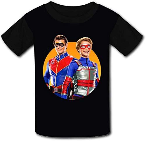 ANTOUZHE niño Camisetas Kid's Casual tee Hen-ry Dan-Ger 3D Print Graphics Fashion...