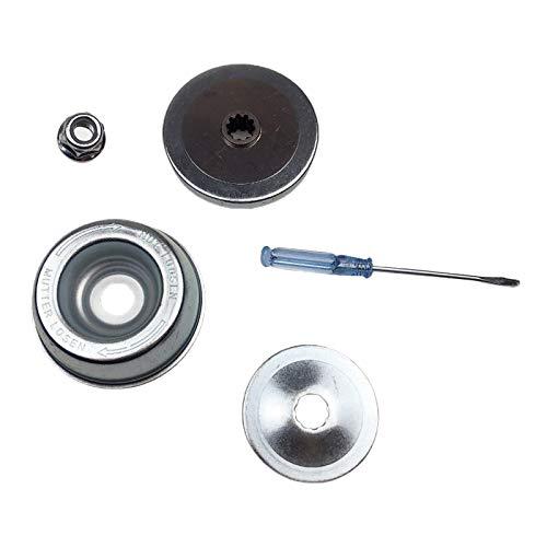 MagiDeal Reemplazo del adaptador de la hoja de la cortacésped para los recortadores de cuerdas STIHL destornillador de mantenimiento de la arandela de empuje