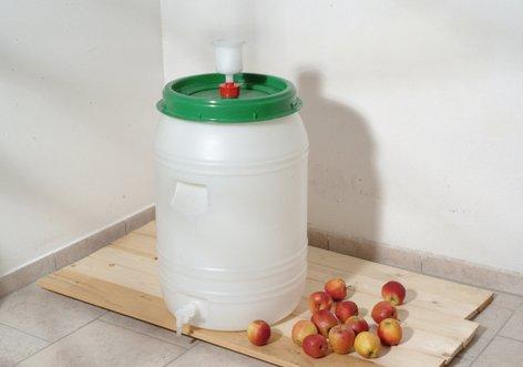 Maischefass Mostfass Getränkefass Weinfass Gärfass 60 Liter