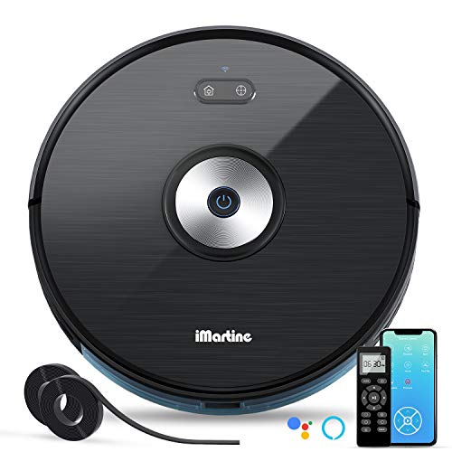 Save %20 Now! Robot Vacuum Cleaner, iMartine 1600PA Robotic Vacuum Cleaner Wi-Fi Connectivity Works ...