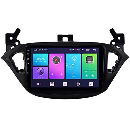 YIJIAREN Navigazione GPS Autoradio Android 9.0 per Opel Corsa 2013-2016, Autoradio Stereo Supporto IPS (Opzionale) Controllo del Volante HD Bluetooth Carplay (Opzionale)