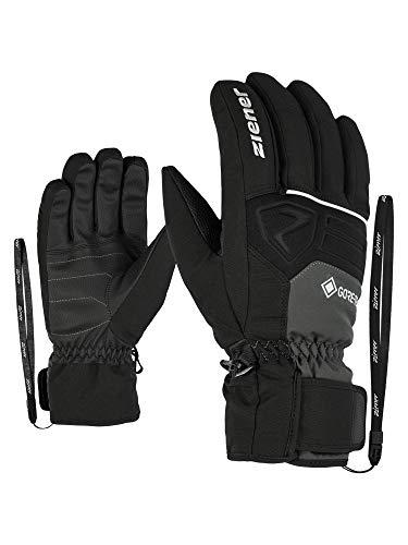 Ziener Gloves Greggson Guantes De Esquí Gore Tex De Hombre, Graphite, 10