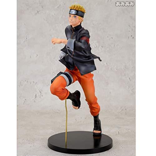 LIYONG Inländische Qualität Naruto Anime Modell laufen Whirlpool Naruto Figur Skulptur Anime Hand Modell Spielzeug Ornamente