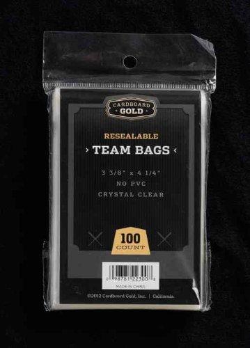 Cardboard Gold CBG 1000 ct Resealable Sports Card Team Set Bags