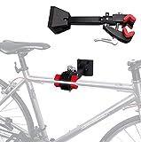 XYLUCKY Soporte De Pared para Bicicleta Soporte De Pared para Bicicleta Soporte De Gancho para Bicicleta De Pared Soporte para Bicicleta Ajustable Almacenamiento Interior para Bicicletas De Montaña