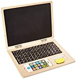 ToToys Magnetic Alphabet Letters and Numbers Laptop for Kids