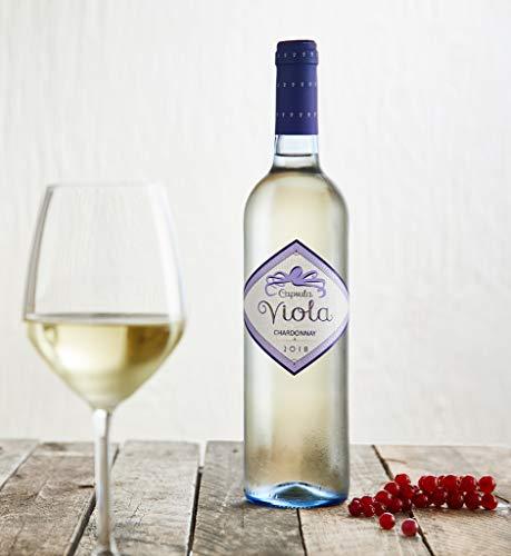 Weißwein aus der Toskana - 12 x 0,750 l. - SANTA CRISTINA CAPSULA VIOLA CHARDONNAY - Weingut Marchesi Antinori