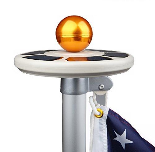 Sunnytech 3rd Generation Solar Power Flagpole Light