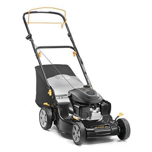 Alpina 295492034/A19 benzine grasmaaier (145 cc, zwart, maaibreedte 46 cm, opvangmand 55 L) BL 460 SH