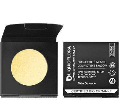 Liquidflora Recharge Fard Compact Bio 08 Golden Moon or Blanc Yeux